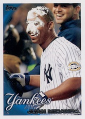 2010 Topps Series 1 Baseball Pie in the Face variation  Image