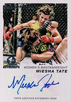 Miesha Tate Cards and Autographed Memorabilia Guide