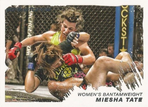 Miesha Tate Cards and Autographed Memorabilia Guide 1