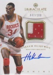 Top Hakeem Olajuwon Cards for Basketball Collectors to Own 14