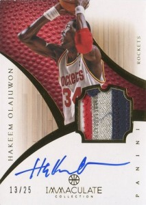 Top Hakeem Olajuwon Cards for Basketball Collectors to Own 13