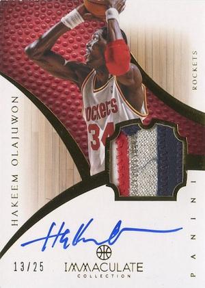 Top Hakeem Olajuwon Cards of All-Time 12