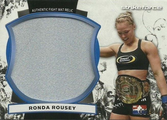 Ronda Rousey MMA Cards and Autographed Memorabilia Guide 6