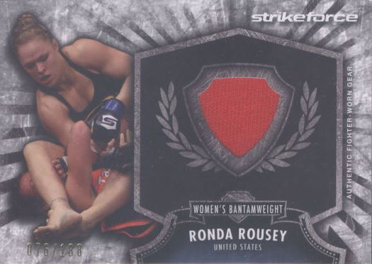 Ronda Rousey MMA Cards and Autographed Memorabilia Guide 4