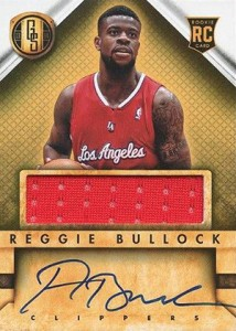 2013-14 Panini Gold Standard Rookie Jersey Autographs Guide 25