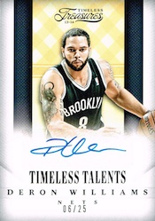 2013-14 Panini Timeless Treasures Basketball Cards 31