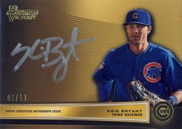 To the Victors Go the Spoils: 2013 Bowman Victory Baseball Autographs  1