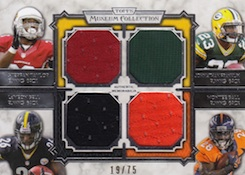 2013 Topps Museum Collection Football Cards 38