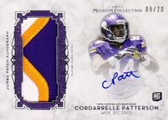 2013 Topps Museum Collection Football Cards 24