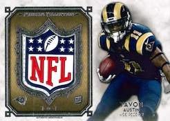 2013 Topps Museum Collection Football Cards 30