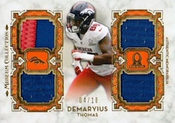 2013 Topps Museum Collection Football Cards 37