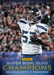 2014 Panini Super Bowl XLVIII Champions Football Cards 3