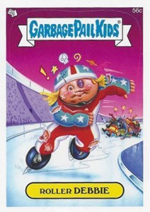 2014 Topps Garbage Pail Kids C Variations Head to the Olym-Picks 1
