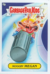 2014 Topps Garbage Pail Kids C Variations Head to the Olym-Picks 9