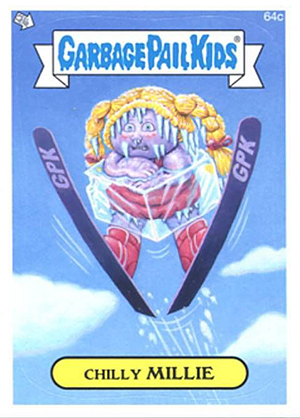 2014 Topps Garbage Pail Kids C Variations Head to the Olym-Picks 5
