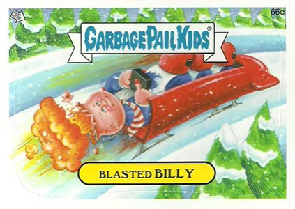 2014 Topps Garbage Pail Kids C Variations Head to the Olym-Picks 6