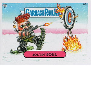2014 Topps Garbage Pail Kids C Variations Head to the Olym-Picks 4
