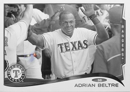 2014 Topps Baseball Sparkle Variation Spotter 27