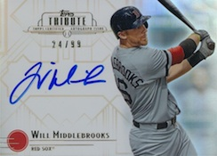 2014 Topps Tribute Baseball Cards 25