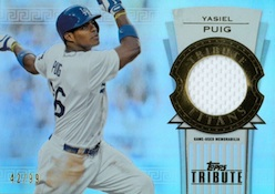 2014 Topps Tribute Baseball Cards 31