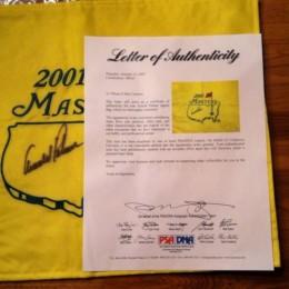 Arnold Palmer Cards and Autograph Memorabilia Guide 24