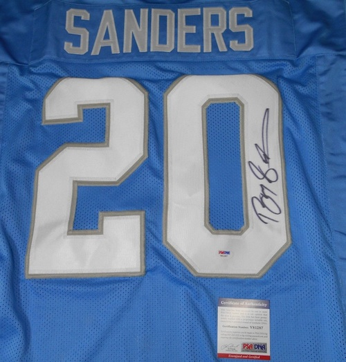 Barry Sanders Cards and Memorabilia Guide 23