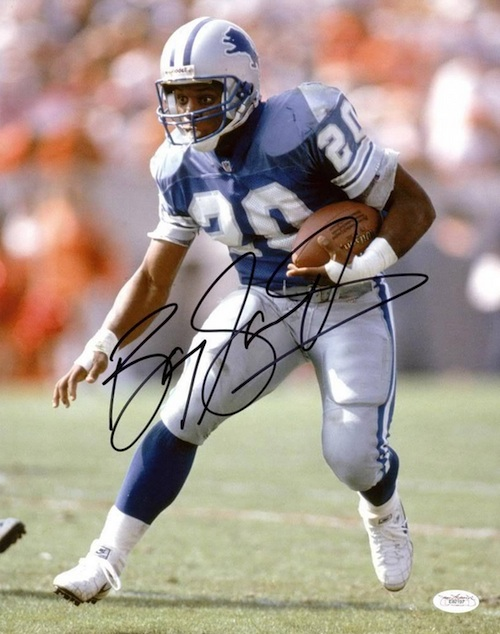 Barry Sanders Cards and Memorabilia Guide 25