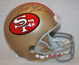Deion Sanders Signed Helmet