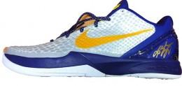 Kobe Bryant Autographed Shoe