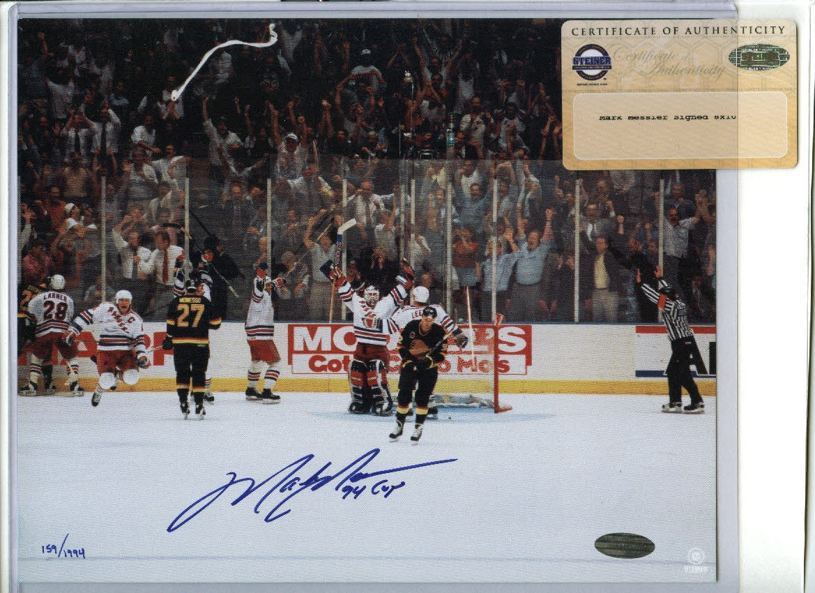 timeless design 9b3d9 87ea8 Mark Messier Cards, Rookie Cards and Autographed Memorabilia ...