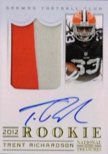 National Treasures Trent Richardson RC