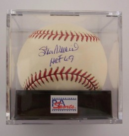 Stan Musial Signed Baseball