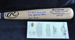 Stan Musial Signed Bat