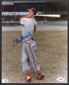 Stan Musial Signed Photo 242x300 Image
