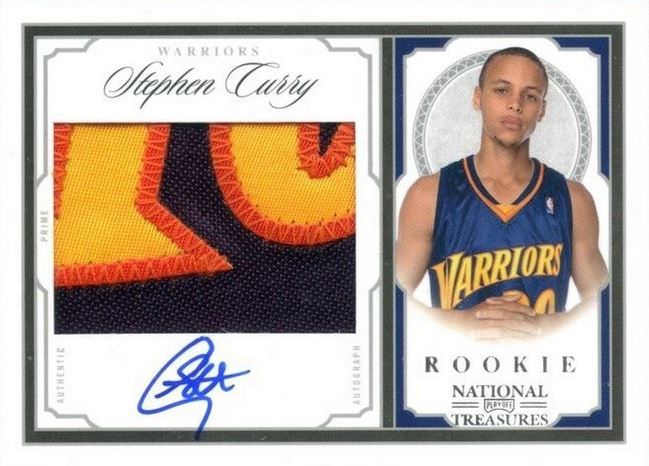 Top 10 Stephen Curry Rookie Cards 11