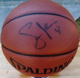 Steve Nash Signed Basketball