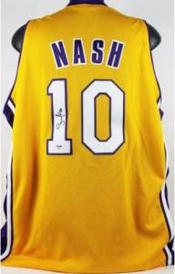 Steve Nash Signed Jersey