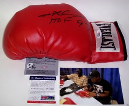 Sugar Ray Leonard Signed Glove