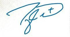 Taylor Hall Signature Example