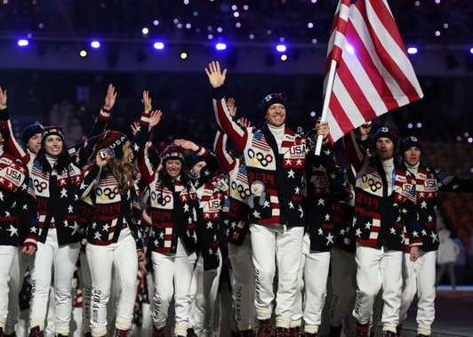 Go Bold or Go Home! Wild Team USA Sweaters Cause a Stir for Viewers and Collectors 2