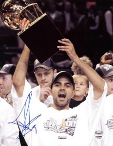 Tony Parker Signed Picture