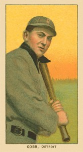 Top 10 Ty Cobb Baseball Cards of All-Time 10