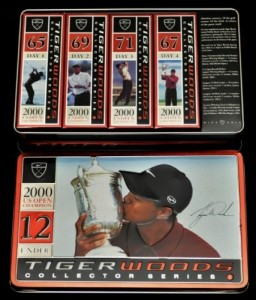 US Open Championship Tiger Woods Golf Balls