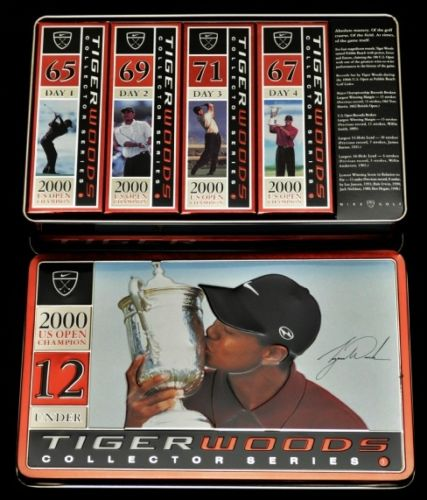 Tiger Woods Rookie Cards and Autographed Memorabilia Guide 50