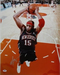 Vince Carter Signed Photo