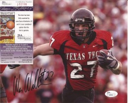 Wes Welker Signed Photo