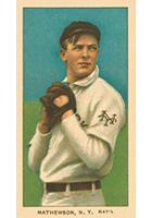 Christy Mathewson Cards and Autograph Guide