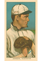 Walter Johnson Cards and Autograph Guide