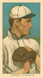 1909 T206 Walter Johnson Pitching #235