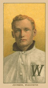 1909 T206 Walter Johnson Portrait #236